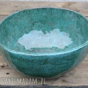 ceramiczny zlew do łazienki, ceramiczna umywalka, polska ceramika, rustykalna