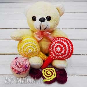 słodki zestaw bezpiecznych zabawek - 4 szt - zestaw, zabawki, sesja, foto, dzieci