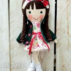 lalki malowana lala amelia, lalka, przytulanka, niespodzianka, zabawka, prezent