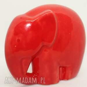 figurka słoń ceramiczny na szczęście ceramika ceramika