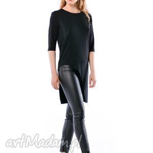 JUSTYNA HYPNOTIC BLACK, koszulka, bluzka, tunika