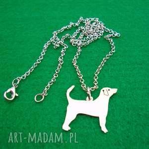 naszyjnik angielski foxhound pies nr 96, naszyjnik, z psem, rasy psów