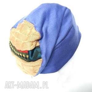 czapka damska dzianina z wełną dresowa, czapka, dzianina, sportowa, dresowa