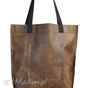 na ramię torba mr m vintage ruda skóra naturalna, torba, ruda, miejska