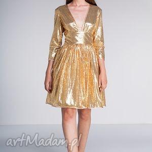 świąteczny prezent, sukienki sukienka gloria, cekiny, karnawał, wesele, sylwester