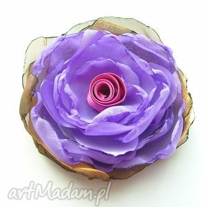samantha florentyna - broszka, kwiat