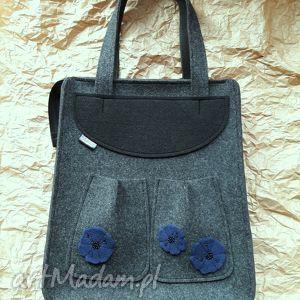catoo accessories felt bag kwiaty, prezent, torba, filcowa, filcu, torebka, ramię