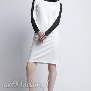 sukienki sukienka, suk115 ecru
