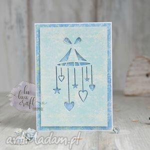 witaj na świecie - chłopięca, narodziny, newborn, kartka, dziecko, gratulacje