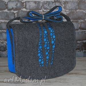 torba z filcu - listonoszka personalizowana grawerowaną dedykacją 13