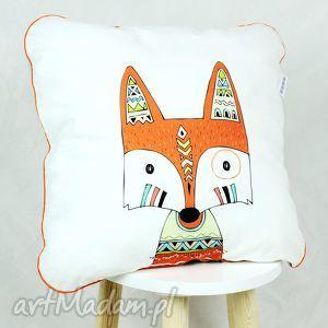 poduszka lis indianin , poduszka, lis, minky, indianie, dziecko, dekoracyjna, święta