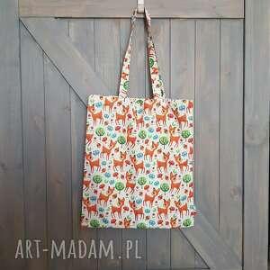 handmade torba bawełniana - ecotorba na zakupy