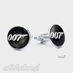 Spinki do mankietów 007 laluv james, bond, tajny, agent