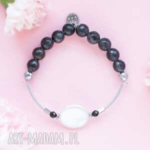 WHW High - Sea Pearl, dwustronna, kamienna, kamienie, perła, jadeit, hematyt