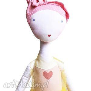 ręcznie robione lalki słoneczna nola - lalka z sercem, baletowa