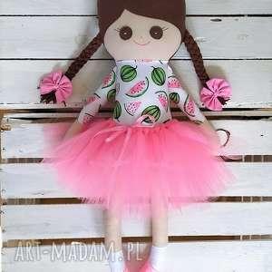 ręcznie robione lalki szmaciana laleczka arbuzy, szmacianka