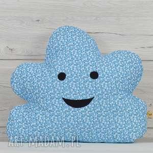pokoik dziecka poduszka dekoracyjna dla 40x50cm - chmurka, poszewka