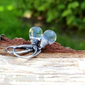Biżuteria onyksela kryształ, górski, krople,