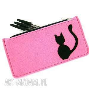 aneta pruchnik pink pencil-case, piórnik, kot
