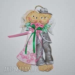 To dla was - anioły ślubne lub jubileuszowe ślub magosza anioły