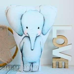 Poduszka - zabawka słonik pokoik dziecka maly koziolek poduszka