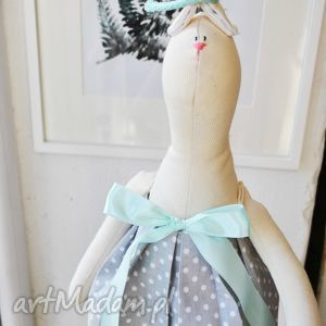 pani królik szmacianka prezent pod choinkę dla dziewczynki, maskotka, przytulanka