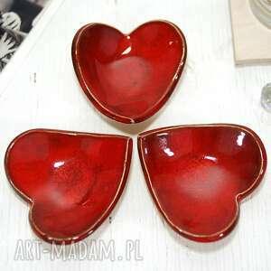 Ceramiczna miseczka na obrączki, biżuterię i drobiazgi ceramika