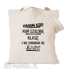 torba z nadrukiem dla nauczycielki, wychowawczyni, prezent dzień nauczyciela