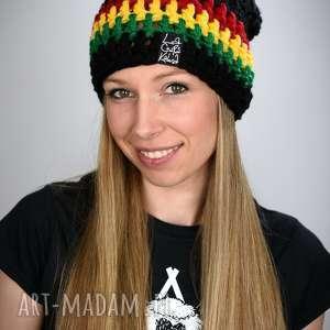 czapka rasta 03, czapka, zimowa, gruba, rasta, reggae, jamajka, święta