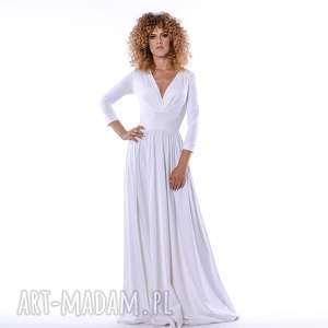 megan - klasyczna suknia, ślubna, długa, klasyczna, unikalny