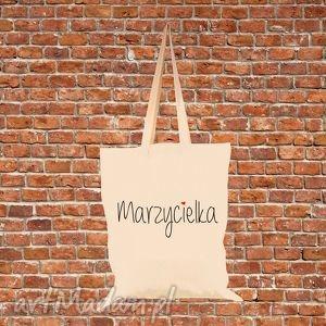 ręcznie wykonane torba eko bawełniana marzycielka