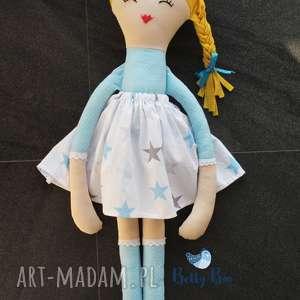 ogromna lalka, 75 centymetrów błękitna ślicznotka, laleczka szmacianka, lalka