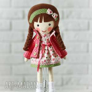 ręcznie zrobione lalki malowana lala marcelina