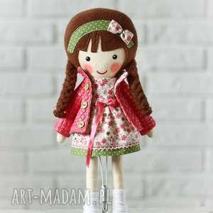 Prezent MALOWANA LALA MARCELINA, lalka, zabawka, przytulanka, niespodzianka,