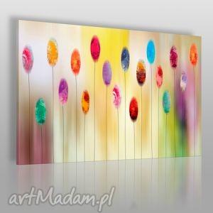 obrazy obraz na płótnie - abstrakcja kolory 120x80 cm 41901, kolory