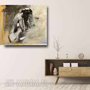 świąteczny prezent, nude 82x62, obraz akt, duży kobieta, duża grafika
