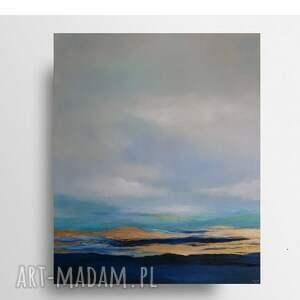 morze-obraz akrylowy formatu 50/60 cm, obraz, akryl, płótno, morze, nowoczesny