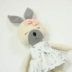 patchworkmoda lala przytulanka króliczka julia, lala, królik, wielkanoc, prezent