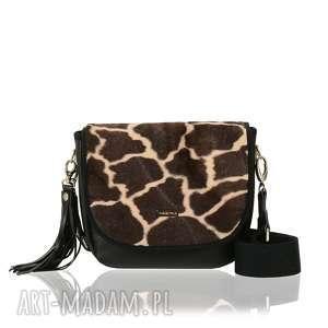 handmade torebki torebka puro saszka 2422 brown giraffe