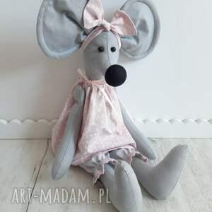 mała myszka amelka 50 cm, myszka, przytulanka, pokój dziecka, zabawka, maskotka