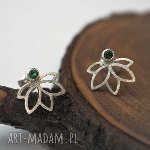 Zielone kwaity lotosu jachyra jewellery joga, kwiaty, lotos,
