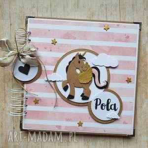 album - mój przyjaciel jednorożec, album, urodziny, chrzest, koń, unicorn