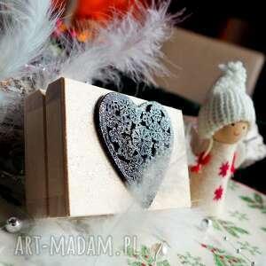pudełko prezentowe do biżuterii silvella, pudełeczko, pudełko, serce, prezent