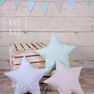 poduszka gwiazda pastelowa - poduszki, poduszka, gwiazda, gwiazdy, gwiazdki