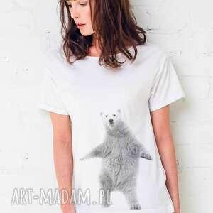 dancing - koszulka oversize t-shirt damska biała, oversize, koszulka, tshirt, moda