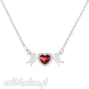 hand made naszyjniki celebrate - cupid with heart - necklace