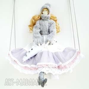 lalka angel - lalka kolekcjonerska skandynawski styl, tilda anioł