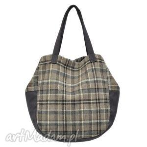 24-0004 wielobarwna torebka damska worek / torba na studia swallow, duże, modne