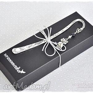 zakładka w pudełku - nocna sowa, zakładka, sówka, prezent, książki