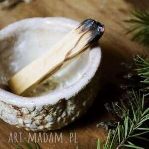 hand made ceramika miseczka do palo santo